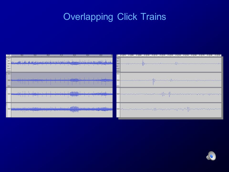 Overlapping Click Trains