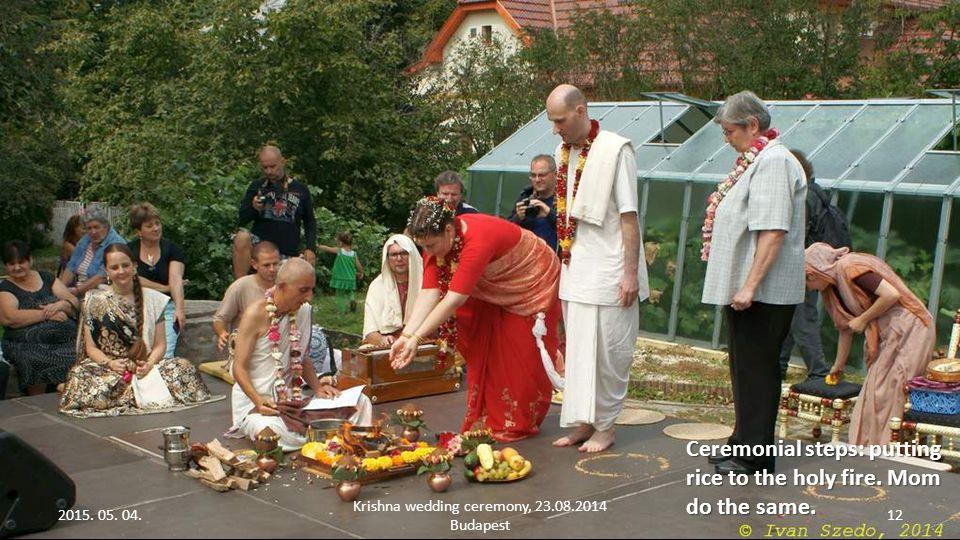 2015. 05. 04. Krishna wedding ceremony, 23.08.2014 Budapest 11