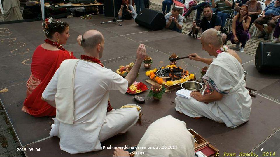 2015. 05. 04. Krishna wedding ceremony, 23.08.2014 Budapest 16