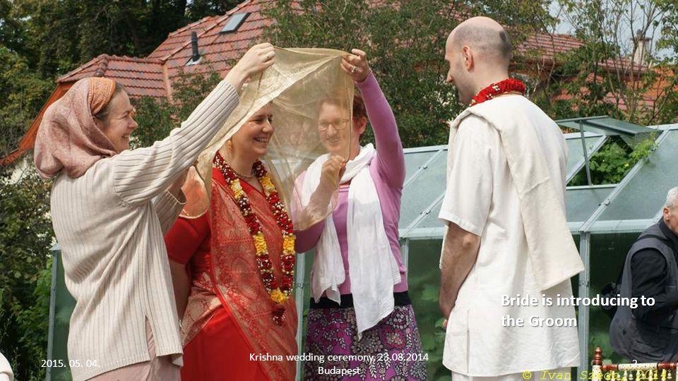 Krishna wedding ceremony Photographed by Ivan Szedo Bride seven times go around the groom