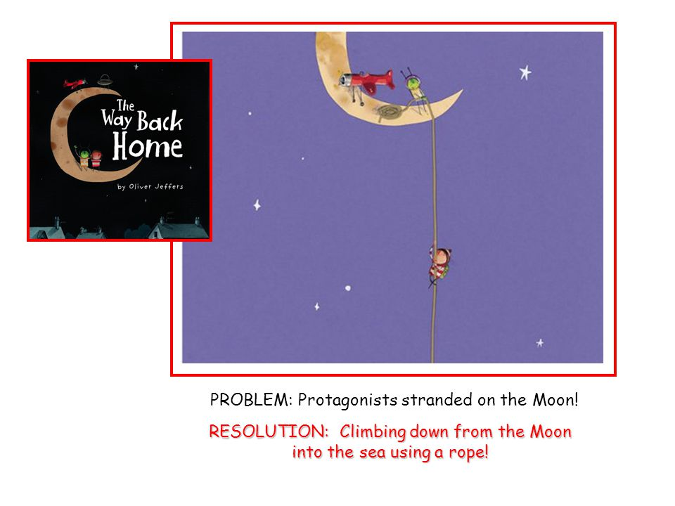 PROBLEM: Protagonists stranded on the Moon.