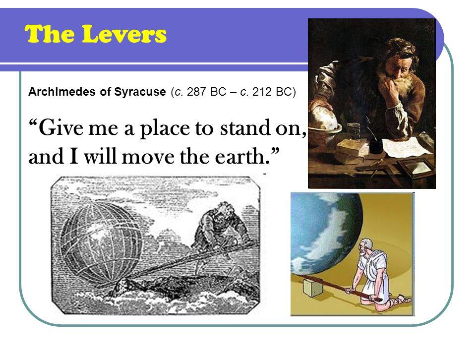 Archimedes of Syracuse (c. 287 BC – c.