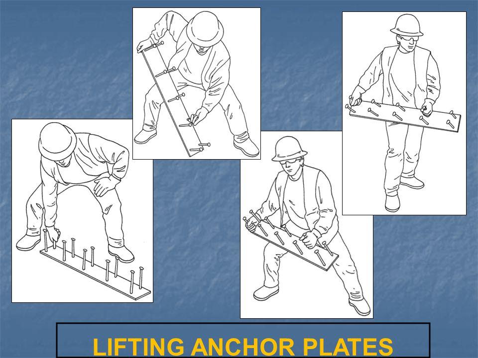 LIFTING ANCHOR PLATES