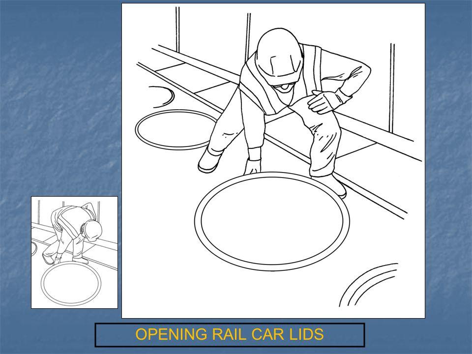 OPENING RAIL CAR LIDS