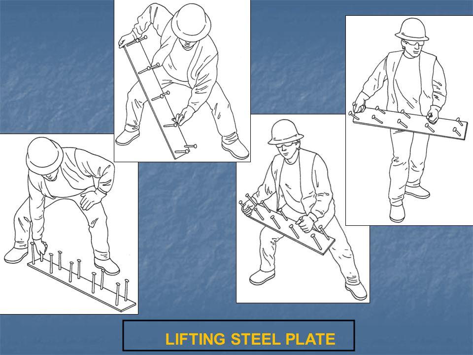 LIFTING STEEL PLATE