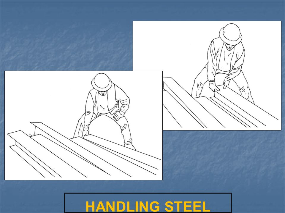 LIFTING AN EXTENSION CORD HANDLING STEEL