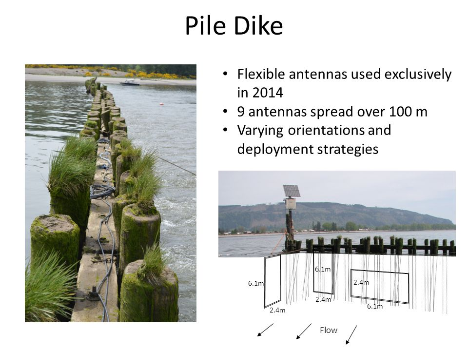 Stationary Deployment Strategies Parallel to Pile DikePerpendicular to Pile Dike Anchor
