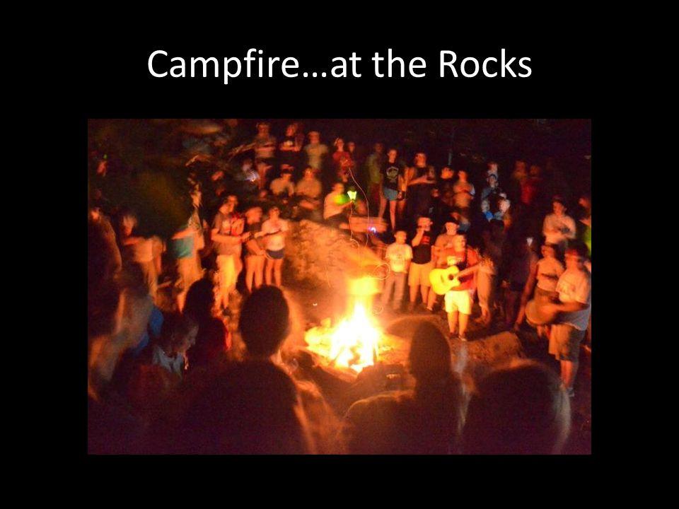 Campfire…at the Rocks