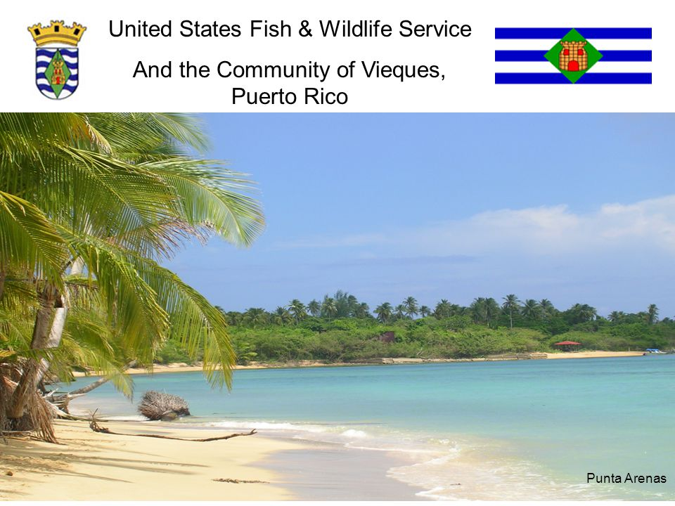United States Fish & Wildlife Service And the Community of Vieques, Puerto Rico Punta Arenas