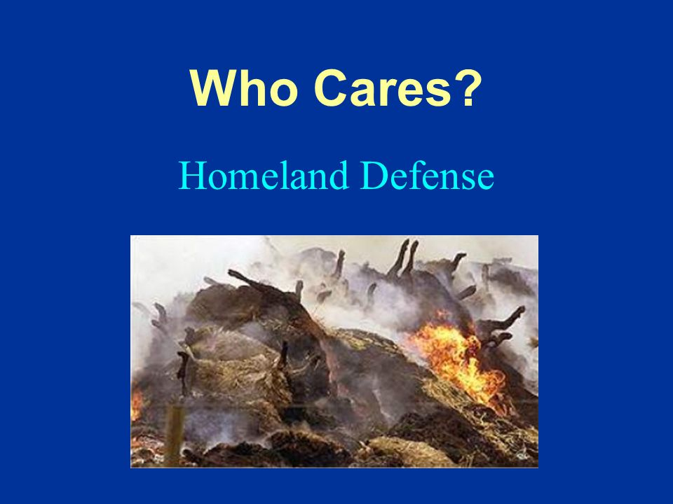 Homeland Defense Who Cares