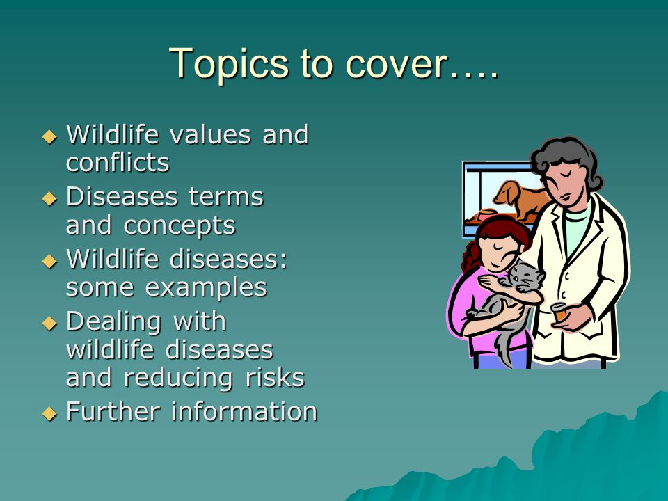 Topics to cover….