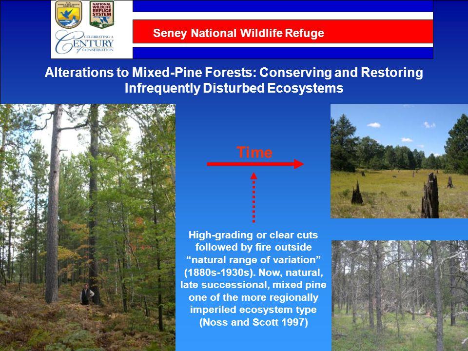 Seney National Wildlife Refuge Ecological Considerations for Landscape Management Based on Soils, Disturbances, and Resulting Composition and Structure 1 Burger and Kotar.
