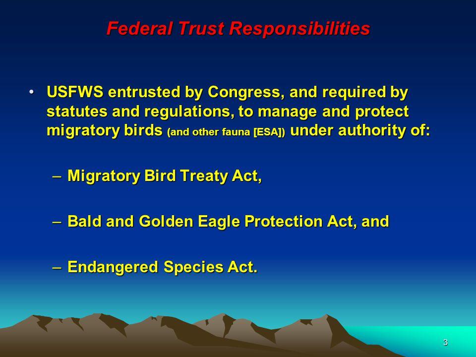 4 Avian Population Status Status U.S.bird populations of concern.