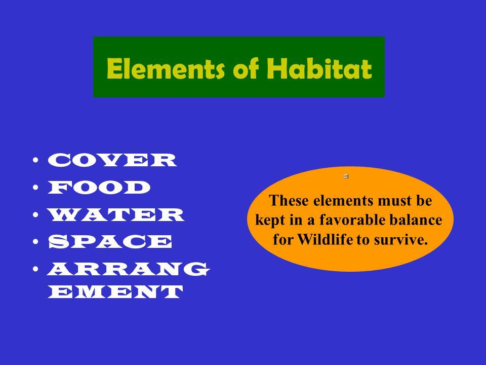 What is Wildlife Habitat.