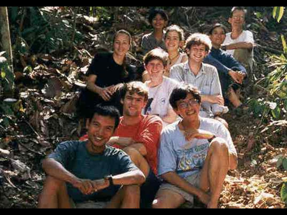 Sumatra Trip - 1997 Bukit Barasin Selatan Nat'l Park Four Students and Professor Andy Dobson visited established WCS research station Formal Habitat Study at WCS Way Canguk Research Station Habitat subsequently destroyed by fire Research became priceless