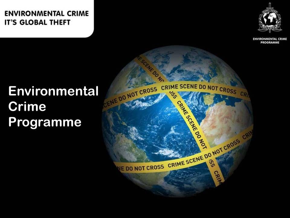 Environmental Crime Programme