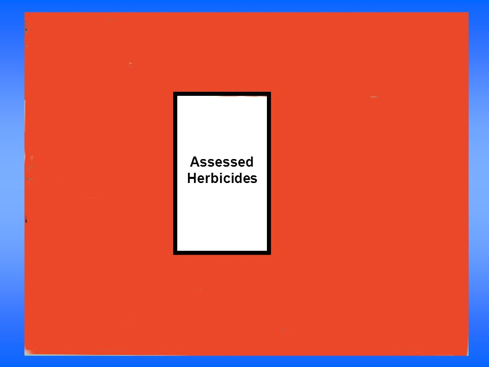Assessed Herbicides