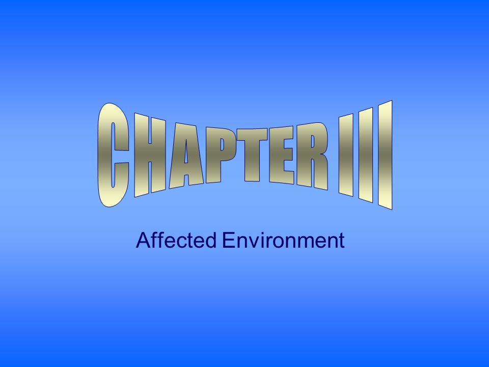 Affected Environment