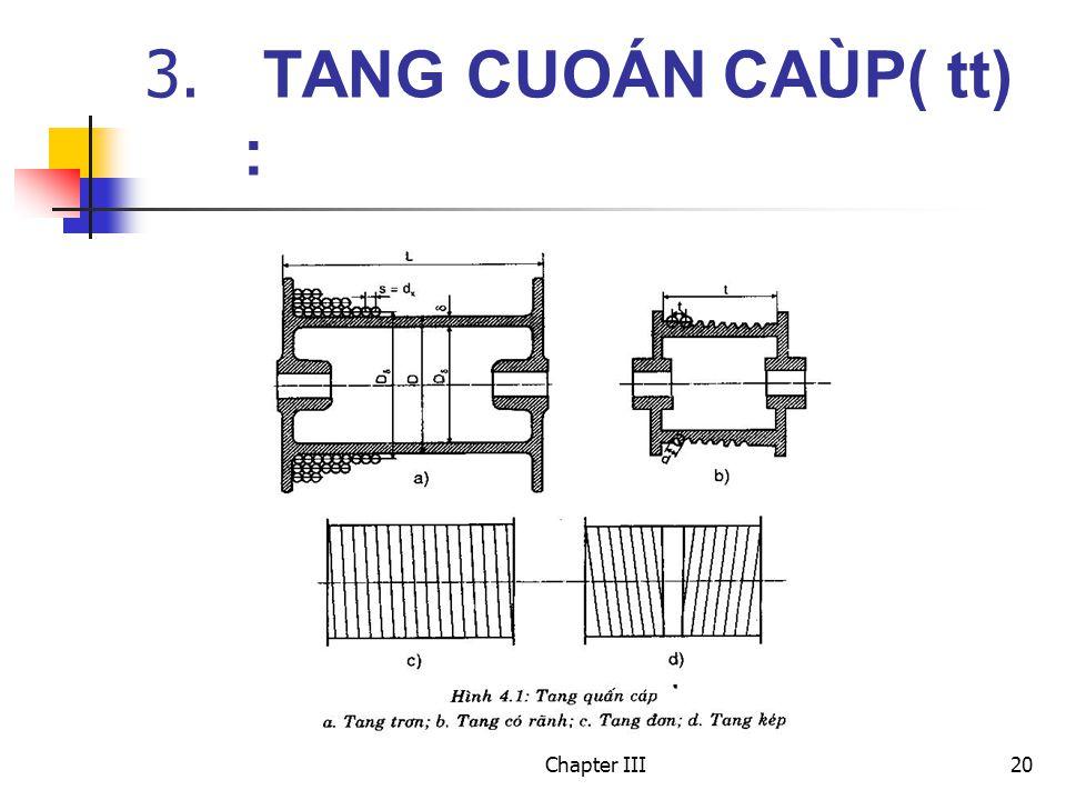 Chapter III20 3. TANG CUOÁN CAÙP( tt) :