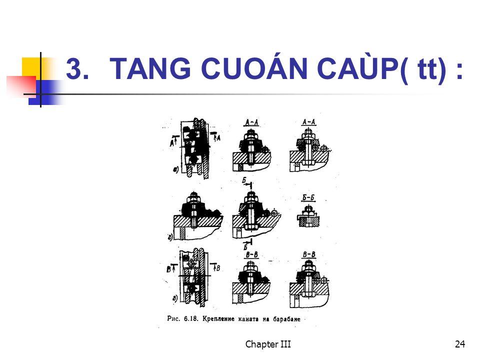 Chapter III24 3. TANG CUOÁN CAÙP( tt) :