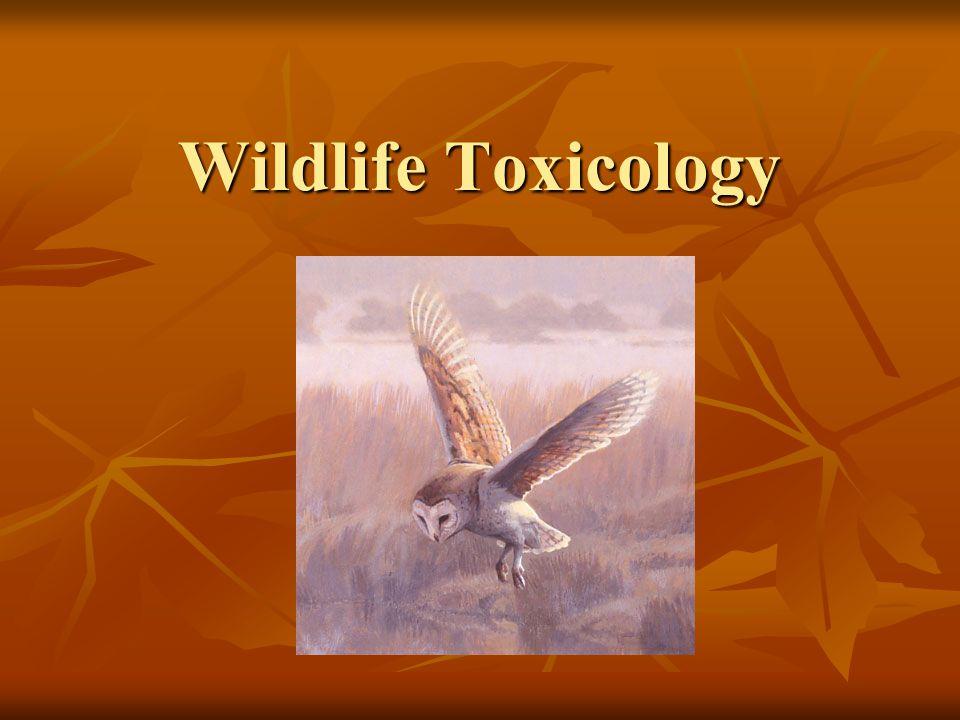 Wildlife Toxicology