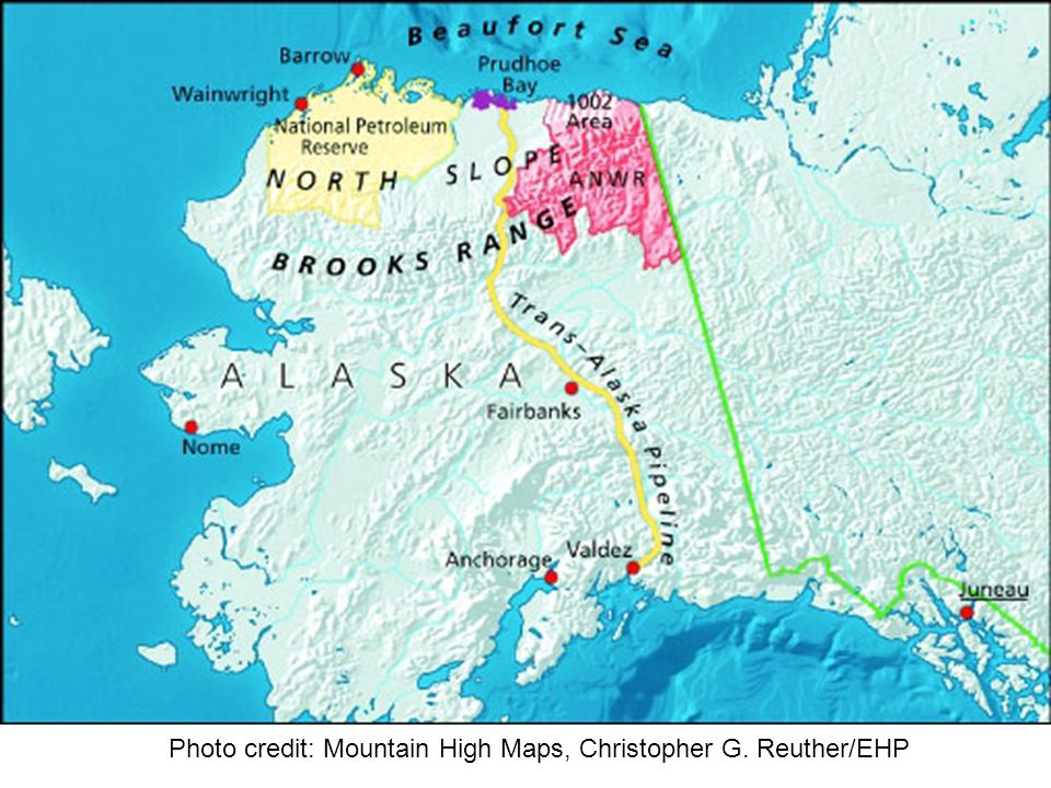 Photo credit: Mountain High Maps, Christopher G. Reuther/EHP
