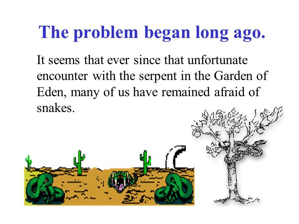 The problem began long ago.