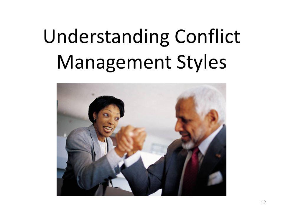 Understanding Conflict Management Styles 12