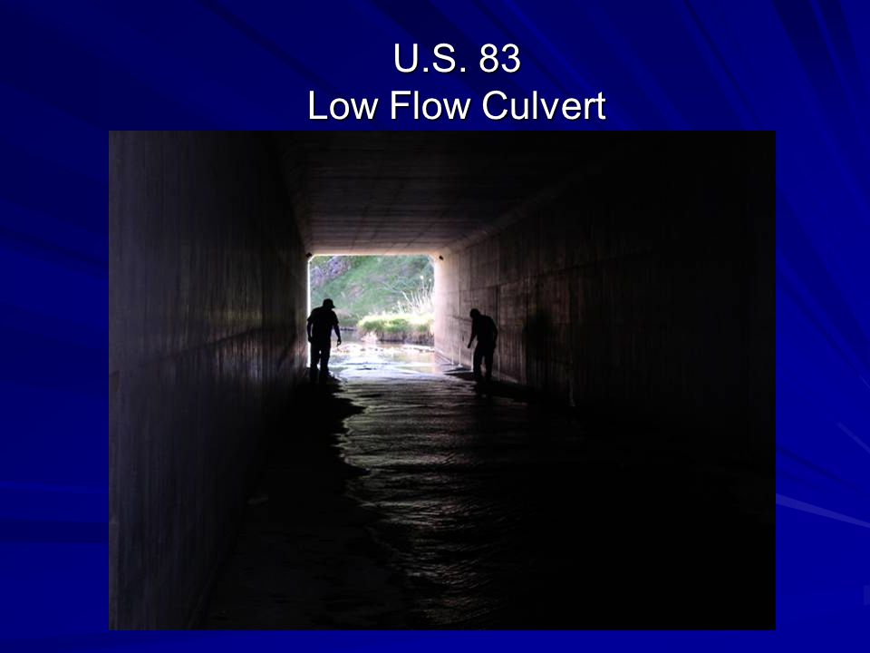 U.S. 83 Low Flow Culvert