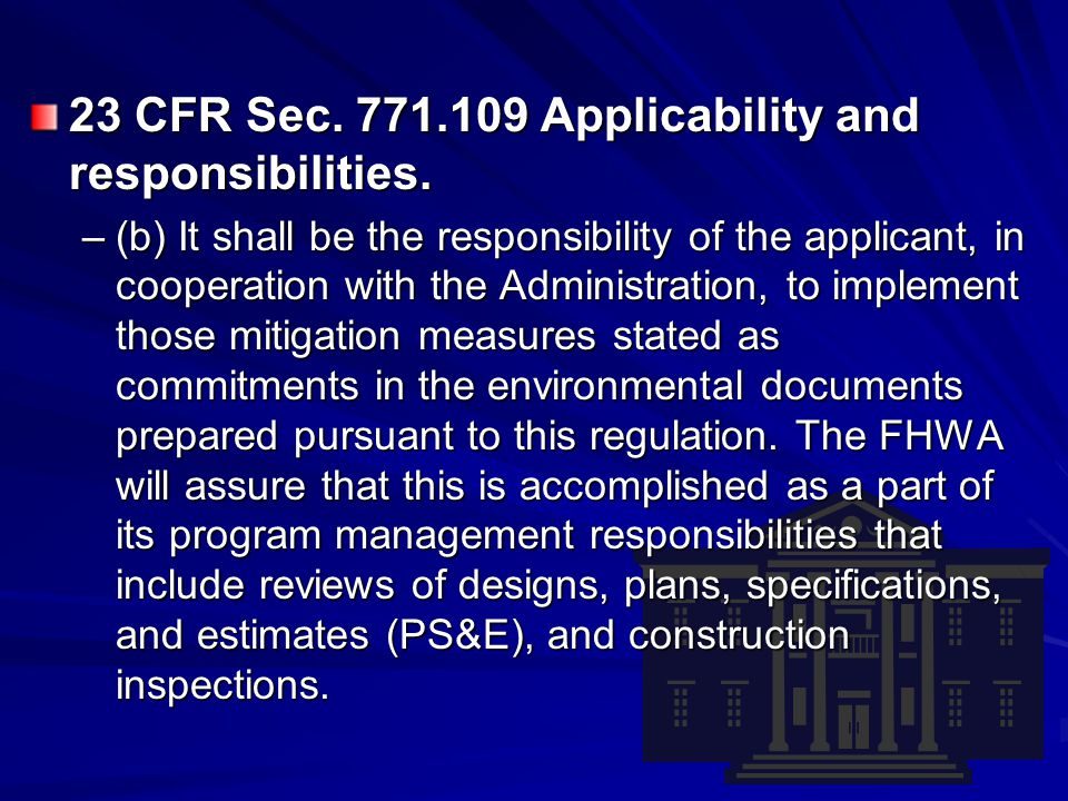 Environmental Commitment Implementation Process Review May 2006 Interagency Team –USFWS, NRCS, NDG&F, NDDOT, and FHWA The following findings resulted from the review