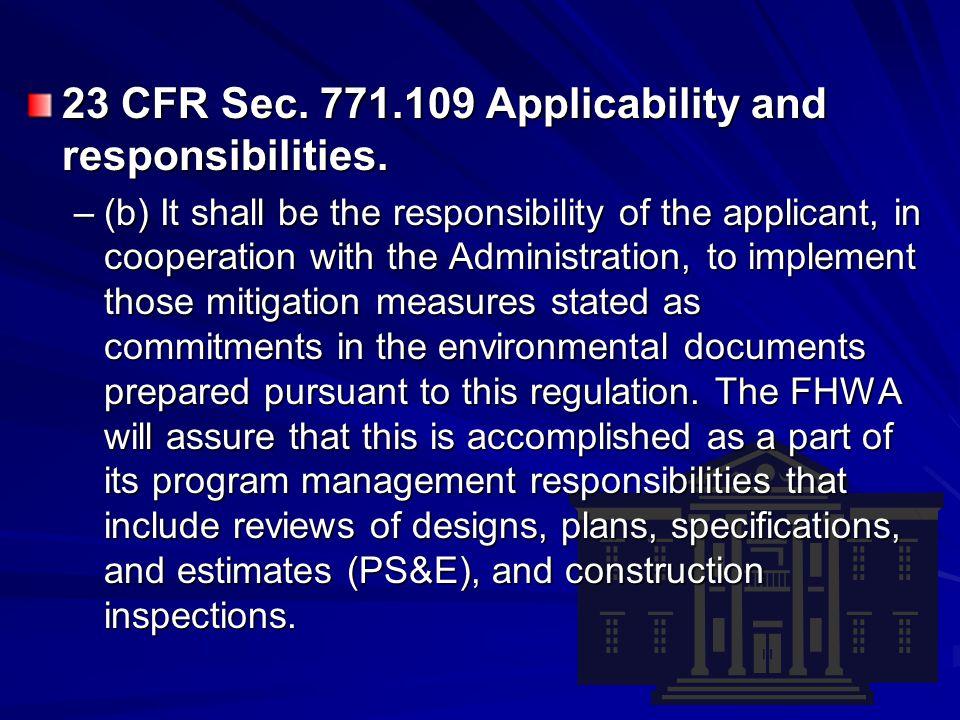 Communicating Environmental Commitments PlanningDesignConstruction