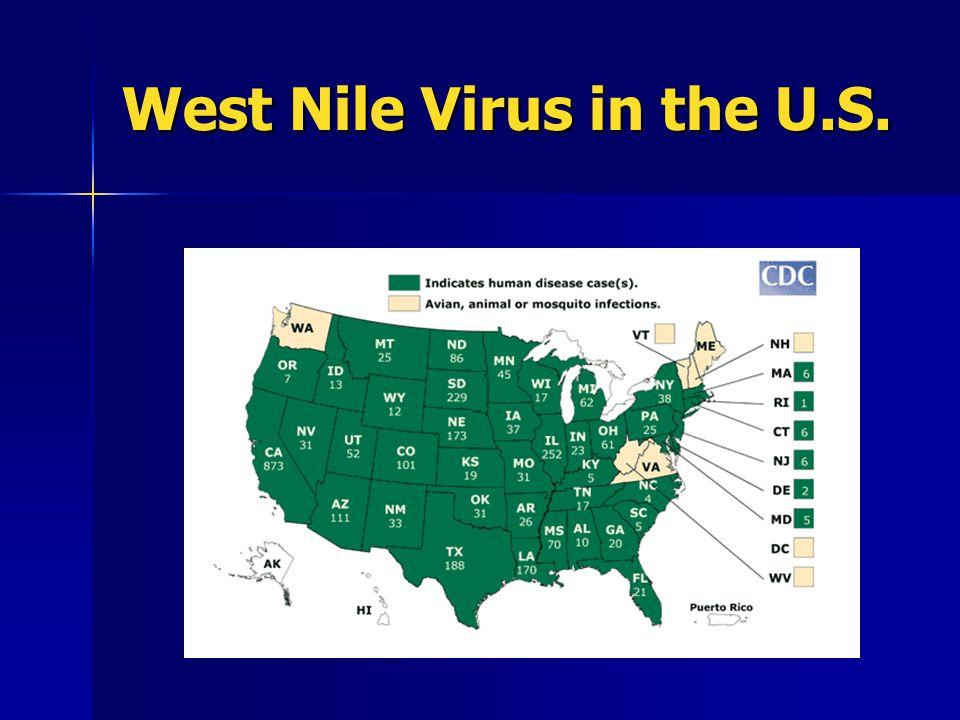 West Nile Virus in the U.S.