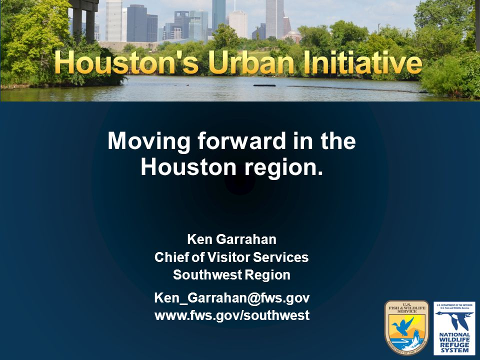 Moving forward in the Houston region.