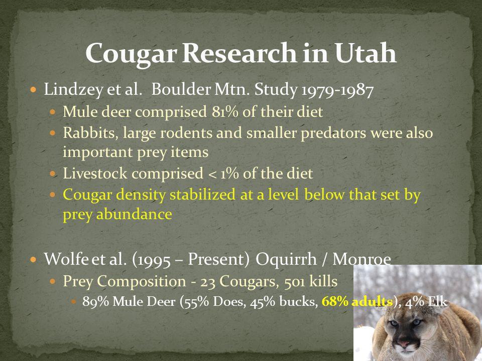Lindzey et al. Boulder Mtn.