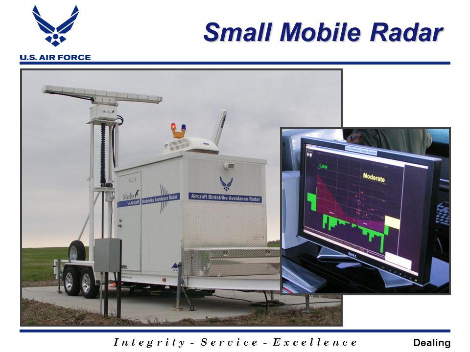 I n t e g r i t y - S e r v i c e - E x c e l l e n c e Small Mobile Radar Dealing
