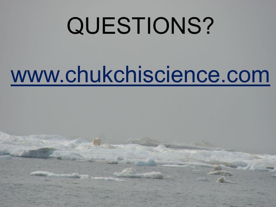 QUESTIONS www.chukchiscience.com