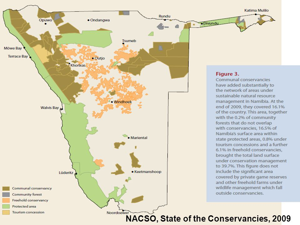 12 NACSO, State of the Conservancies, 2009