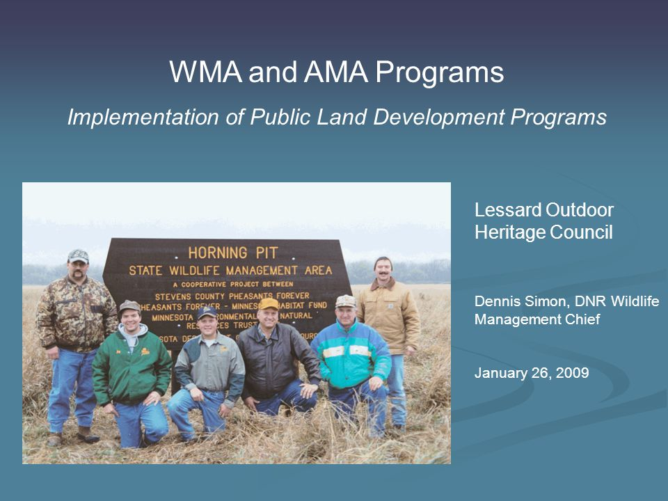 Habitat Management Implementation Delivery Mechanisms – FAW Staff Staff at field offices throughout state with extensive training in: Prescribed burning Commercial pesticide application Power and hand tool safety Heavy equipment operation OHV training Geographic information system training for habitat management planning