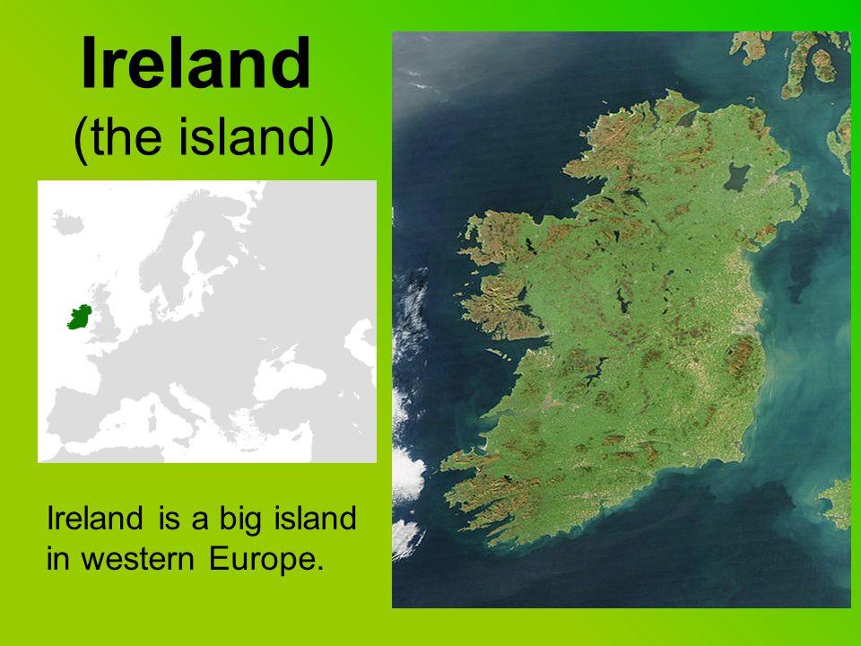 Ireland (Seas around it) Ireland is in the North Atlantic Ocean.