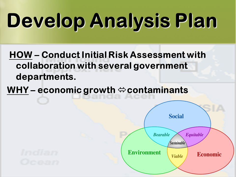 4 HOW – Conduct Initial Risk Assessment with collaboration with several government departments.