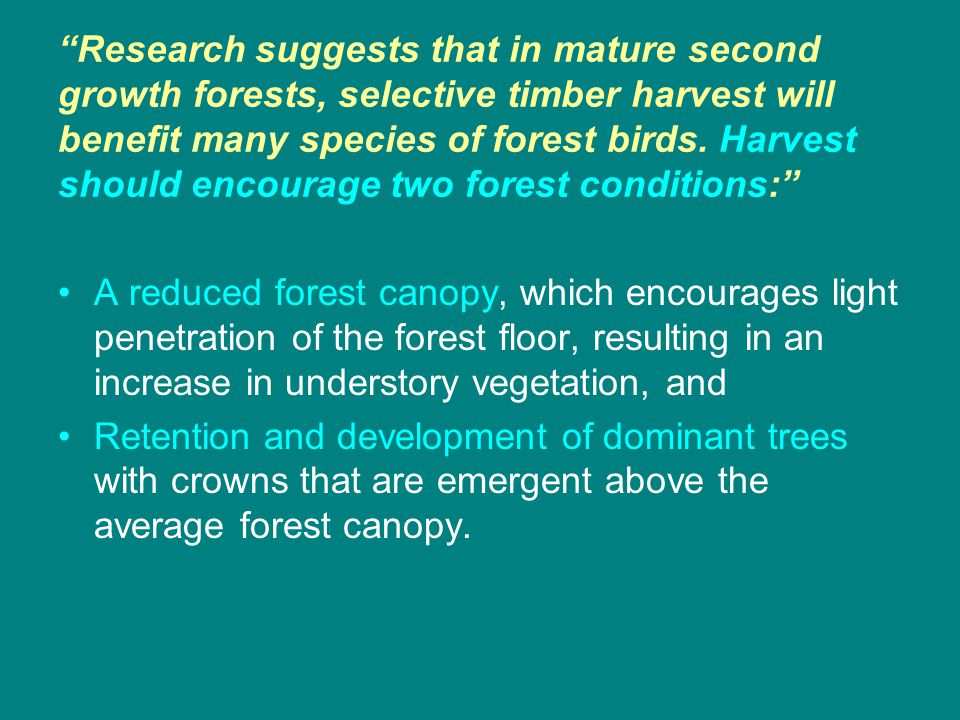 Recommendations …although these recommendations reflect our current knowledge and experience, refinement and modification is expected as we increase our knowledge, understanding, and experience in the science of bottomland hardwood forest restoration and management. (adaptive management)