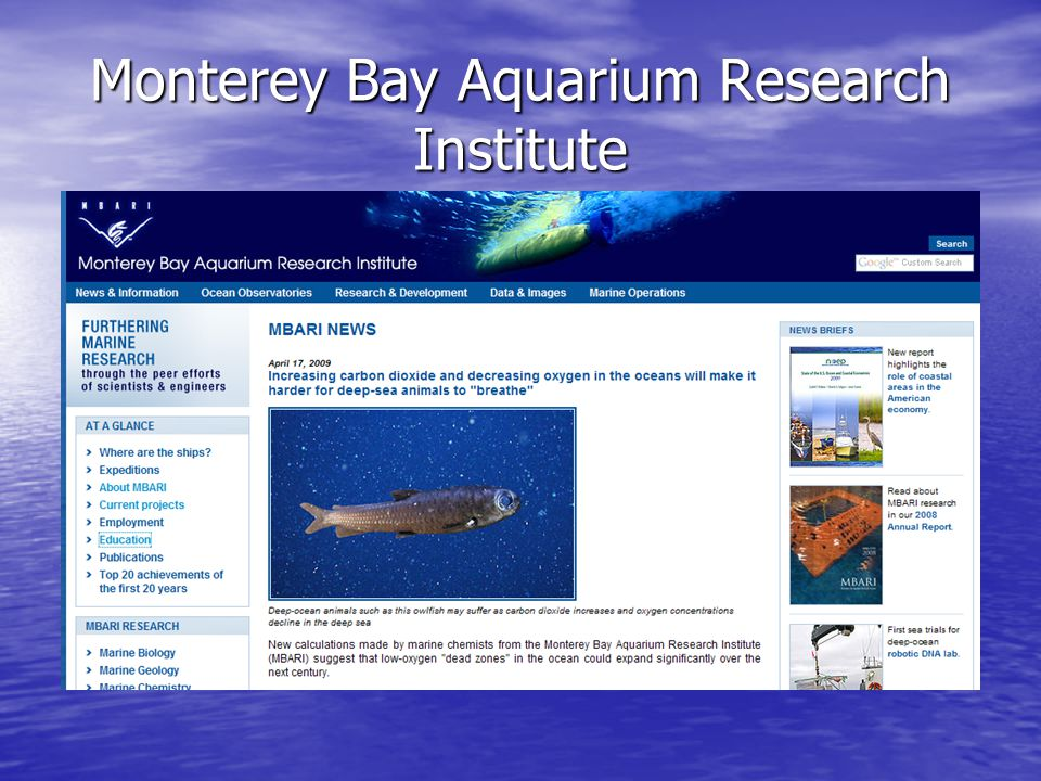 Monterey Bay Aquarium Research Institute