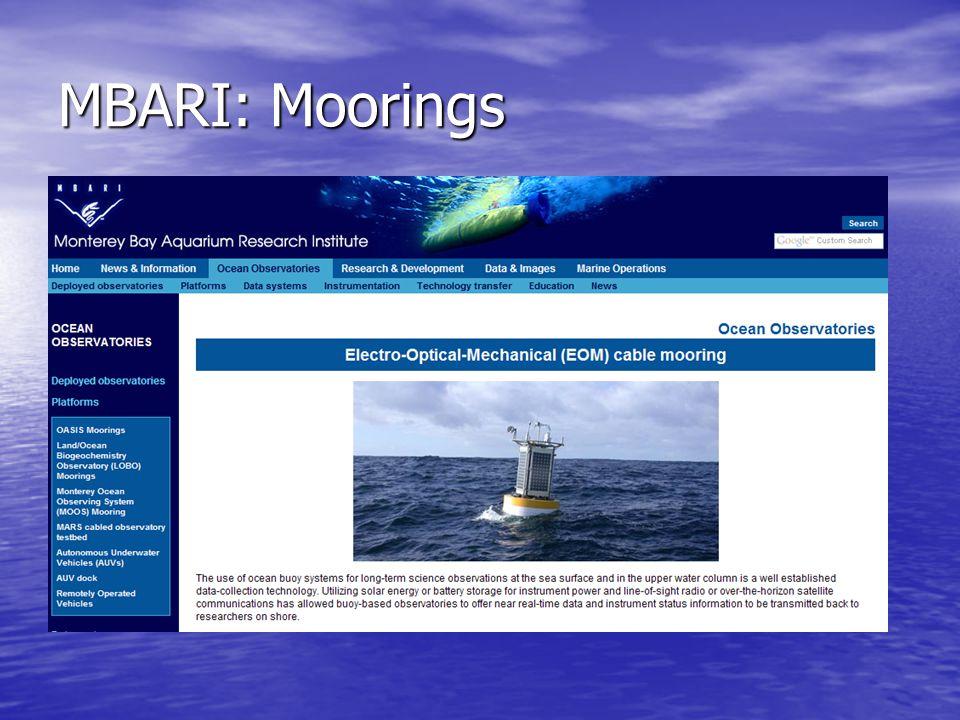 MBARI: Moorings