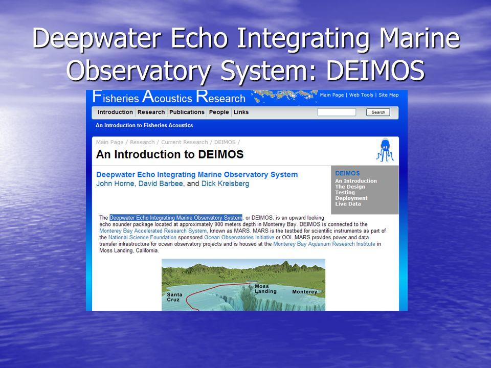 Deepwater Echo Integrating Marine Observatory System: DEIMOS