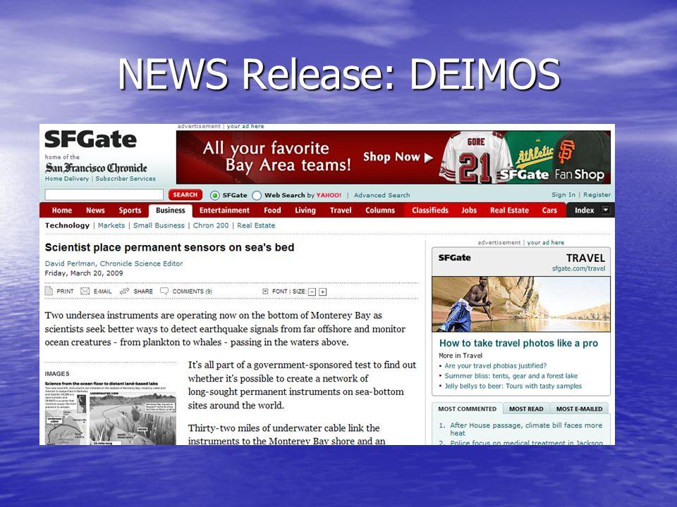 NEWS Release: DEIMOS