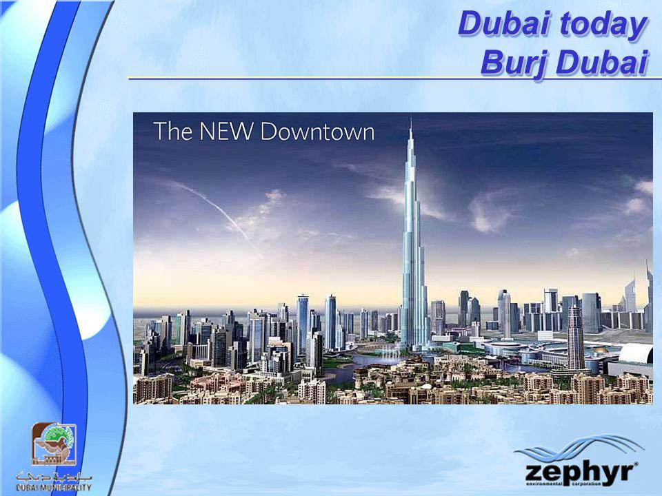 Dubai today Burj Dubai