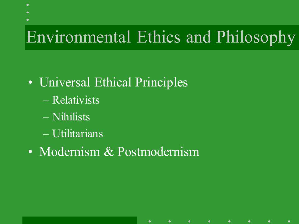 Values, Rights & Obligations Morals Animal Rights Inherent Value Instrumental Value