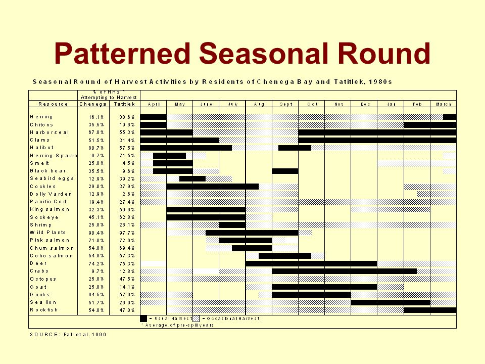 Patterned Seasonal Round