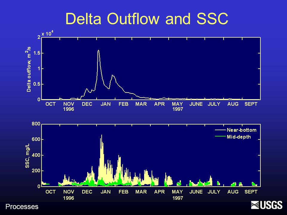 Delta Outflow and SSC Processes