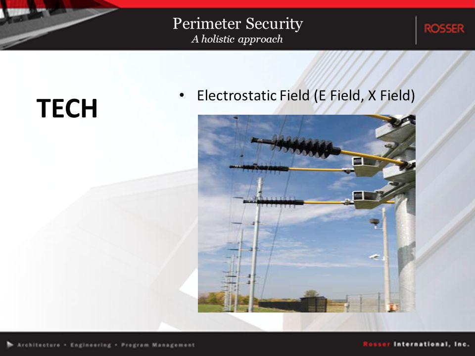 Electrostatic Field (E Field, X Field) TECH Perimeter Security A holistic approach